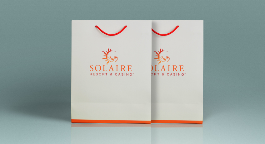 Solaire Shopping Bag