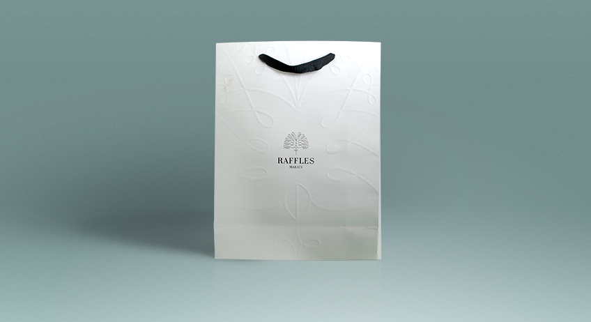 Raffles Shopping Bag